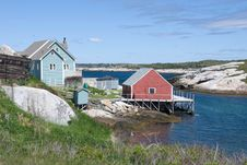 Free Famous Peggy S Cove Royalty Free Stock Photo - 6417775