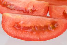 Free Tomatoe Slice Royalty Free Stock Photo - 6418425