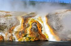 Free Midway Geyser Basin In Yellowstone Stock Photo - 6418870