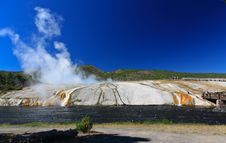 Free Midway Geyser Basin In Yellowstone Stock Photo - 6418890