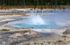Free Midway Geyser Basin In Yellowstone Royalty Free Stock Images - 6418919