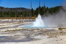 Free Midway Geyser Basin In Yellowstone Royalty Free Stock Photography - 6418927