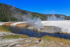 Free Midway Geyser Basin In Yellowstone Stock Photos - 6418933