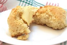 Free Home Made Scones Stock Photography - 6419832