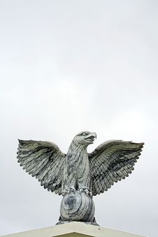 Eagle Statue Royalty Free Stock Photos