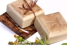 Free Natural Hand Made Soap Stock Images - 6419874