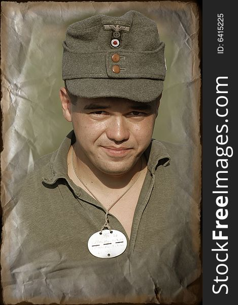 95dbeb20933 German Soldier WW2 Reenacting - Free Stock Images   Photos - 6415225 ...