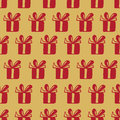 Free Seamless Vector Pattern With Gift Boxes Stock Image - 64184771