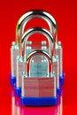 Free Padlocks Royalty Free Stock Images - 6422769