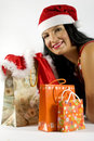 Free Santa With Gifts For Christmas Royalty Free Stock Image - 6423806