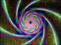 Free Colorful Alien Fantasy Endless Tunnel Royalty Free Stock Photos - 6429088