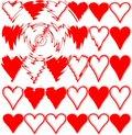 Free Hearts Stock Photography - 6429872