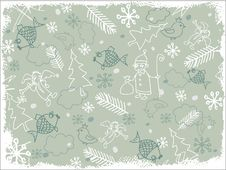 Background Christmas Style Royalty Free Stock Photography