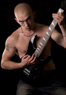 Free Guitarist Stock Image - 6422071