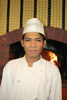 Free Chefs Pizza Restaurant Stock Photos - 6422093