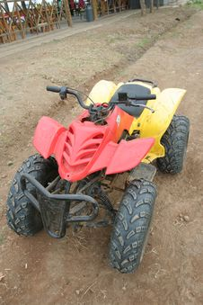 Free Quad Bike Vehicle Stock Image - 6422161