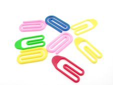 Free Paper Clips Royalty Free Stock Image - 6422216