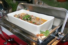 Free Food In Chafing Dish Royalty Free Stock Photos - 6422248