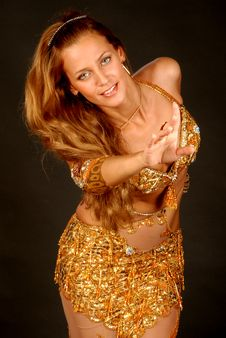 Free Bellydancer9 Royalty Free Stock Photo - 6423235
