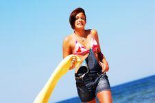Free Enyoing Summertime Stock Photos - 6423993