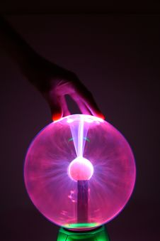 Free Plasma Ball Royalty Free Stock Image - 6424666