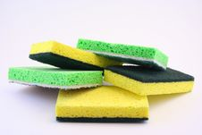 Free Cleaning Sponges Stock Photo - 6424850