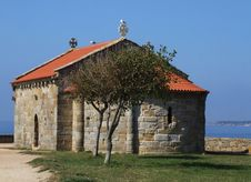 Free Small Church By The Sea Royalty Free Stock Image - 6425176