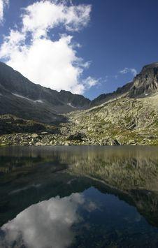Free Mountain Lake Royalty Free Stock Photos - 6425268