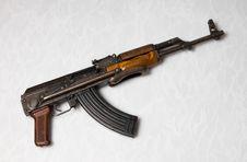 Free Kalashnikov Stock Photo - 6425280