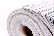 Free Rolled Magazines Royalty Free Stock Images - 6425309
