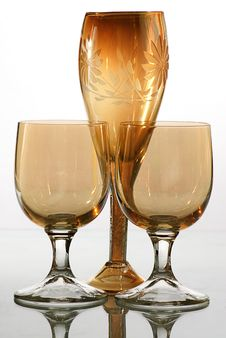 Free Bocal And Wine Glass Stock Photography - 6425442