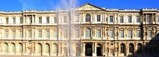 Free France, Paris: Panoramic View Of The Louvre Stock Photo - 6425510