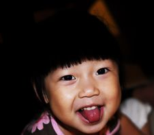 Free Chinese Child Smile Royalty Free Stock Images - 6425859