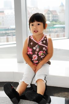 Free Chinese Child Royalty Free Stock Photo - 6426265