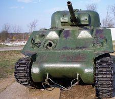 Free Sherman WW2 Tank Stock Image - 6427071