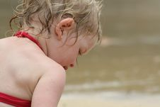 Free Playing At The Beach Stock Photography - 6427072
