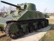Free Sherman WW2 Tank Royalty Free Stock Image - 6427086