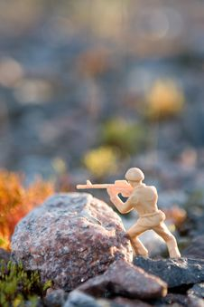 Free Toy Soldier Royalty Free Stock Photos - 6427148