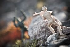 Free Toy Soldier Royalty Free Stock Photo - 6427175