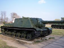 Soviet WW2 Tank Chaser Stock Images