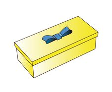 Free Little Yellow Gift Box Royalty Free Stock Photo - 6427685