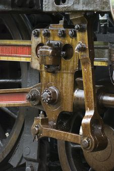 Free Detail Of Steam Engine Royalty Free Stock Photos - 6428198