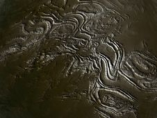 Free Brown Surface Of An Alien Unknown Planet Royalty Free Stock Image - 6428746