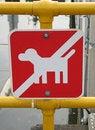 Free No Dog Sign Royalty Free Stock Image - 6433276