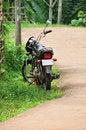 Free Black Hero Honda Motor Bike Royalty Free Stock Images - 6434509