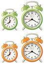 Free Various Alarm Clocks Royalty Free Stock Images - 6438559