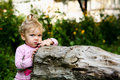 Free Cute Baby Outdoors Royalty Free Stock Photo - 6439045