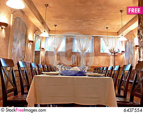 Free Dining Room Stock Images - 6437554