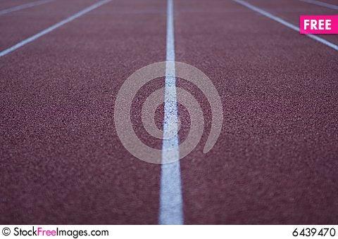 Free Athletic Stadium Running Track Stock Photo - 6439470