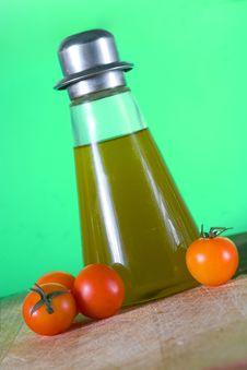 Free Oil And Tomato Stock Photo - 6430390